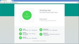 WhatsApp web timeout