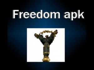 How to use Freedom APK?