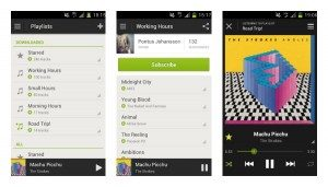 spotify screen android